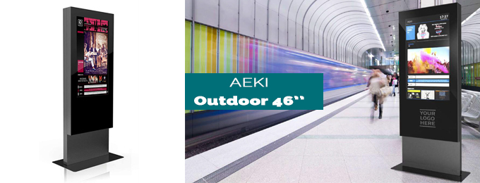borne tactile aeki outdoor