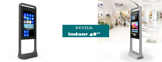 borne tactile Myra indoor